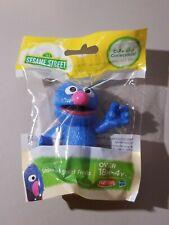 "Hasbro Playskool Sesame Street Grover Figure Plastic 3"" Figure New  Cake Topper"