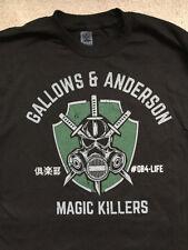 Luke Gallows and Karl Anderson Magic Killers WWE XL T-shirt new NJPW Bullet Club