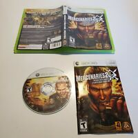 Mercenaries 2: World in Flames - XBox 360 - B+ Condition - Complete - Tested