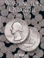 Harris Washington Quarter 1948 - 1964 Coin Folder 2689