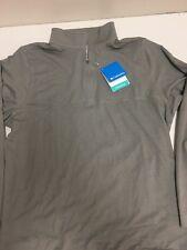 Columbia, Men's Rugged Ridge 1/4 Zip Pullover, Size Medium, Gray, Omni-Wick, NWT