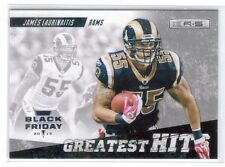 James Laurinaitis 2012 Black Friday Ser#d 1/5 Greatest Hits Rookies & Stars Rams