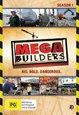 Mega Builders : Season 1 (DVD, 2010, 2-Disc Set) Brand New  Region 4