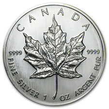 1989 Canada 1 oz Silver Maple Leaf BU - SKU #11052