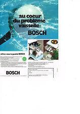 PUBLICITE  1971   BOSCH   lave vaisselle