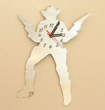 Cowboy Clock - Acrylic Mirror (Several Sizes Available)