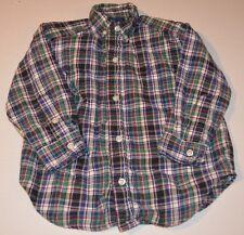 Ralph Lauren 2T 2 Shirt Oxford Plaid