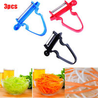 3Pcs Magic Trio Peelers Slicer Shredder Peeler Julienne Vegetable Fruit Cutter G