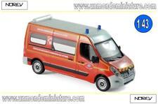 Renault Master 2014 Pompiers VSAV Sdis 13   NOREV - NO 518784 - Echelle 1/43