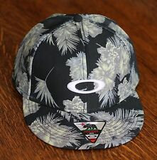 Oakley Sublimated Mesh Snapback Trucker Hat Cap - California Palm Trees  - NEW!
