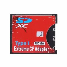 NEW SD SDHC SDXC To CF Compact Flash Memory Card Adapter Reader FT
