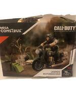 Mega Construx Call Of Duty Legends Motorbike Raid Construction Set 78 Pcs New