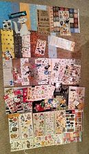 Huge Lot Cat/Kitten Scrapbooking - Stickers, Paper, Calendars, Paw Punch, Tiles