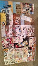 Huge Lot Cat/Kitten Scrapbooking - Stickers, Paper, Calendars, Paw Punch, Tiles