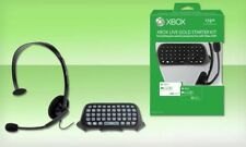 XBOX LIVE 12 Month Gold Starter Kit & 400 Microsoft Points Chatpad Headset [LN]™