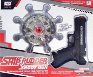 A&N - Electric Shooting Fun Game Rotary Training Infrared Toy Gun for Kids