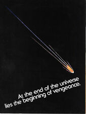 Star Trek II: The Wrath of Khan Movie Advance Promo Program Book 1982 NEW FINE