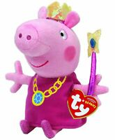 TY - PEPPA PIG PRINCESS 6INCH BEANIE TOY