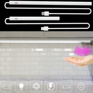 Wireless LED Sensore di Movimento Pir Closet Luci Ricaricabile USB Luce Strappo