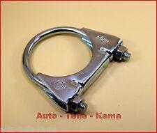 Auspuffschelle für Alfa Romeo , Fiat , Lancia , Montageschelle /Clamp M8 Ø 60 mm