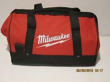 "MILWAUKEE 902189011 Large Tool Bag 17"" X 11"" X 10"" W/ 6 Interior POCKETS NWOT FS"