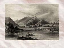 Llanberis Wales Uk Meyer 1840 Photo Print A4