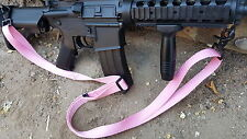 Pink Color 2-point quick release sling for M4, AR15, M16, rifles & airsoft