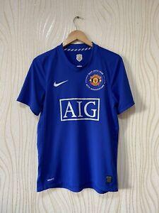 MANCHESTER UNITED 2009 2010 THIRD FOOTBALL SHIRT SOCCER JERSEY NIKE 287615-403 s