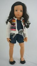"""Gotz Hannah sweet summer romper outfit fits other skinny 18"""" dolls"""