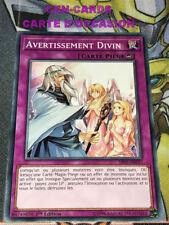 OCCASION Carte Yu Gi Oh AVERTISSEMENT DIVIN SR05-FR037 1ère édition