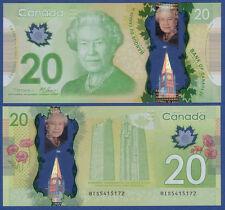 Canada/Canada 20 dollars 2012 Polymer UNC P. 108