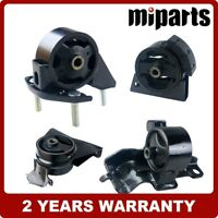 4pc Set K005 Fit 93-97 Toyota Corolla 1.6L Engine /& Trans Mount for Auto Trans