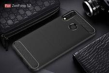 For Asus Zenfone 5 ZE620KL Case Carbon Flexible Silicone Soft TPU Fiber Cover