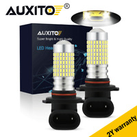 AUXITO 9005 HB3 80W LED Fog Light Car Daytime Running Light Bulb DRL White 6000K