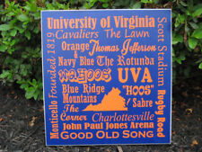 Virginia, UVA sign, University of Virginia, Cavaliers, Virginia Subway art
