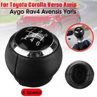 Per Toyota Auris Avensis Corolla Rav4 Yaris Pomello Del Cambio 6 Marce Manuale