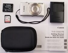 CANON POWERSHOT ELPH180 DIGITAL CAMERA - 20MP - 8X ZOOM - SILVER
