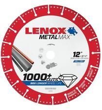 "NEW LENOX 1972930 12"" x 1"" METALMAX GRINDER METAL CUTTING CUT-OFF WHEEL SALE"
