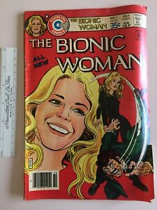 The Bionic Woman  No. 1 Published By Charlton 1977