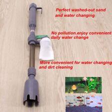 Aquarium Gravel Battery Fish Tank Vacuum Vac Siphon Cleaner Pump Water
