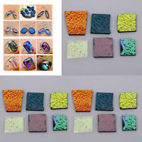 84g Mix Color Kiln Confetti Glass 90 COE Glass Microwave Kiln Fusing Supply