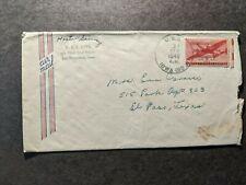 USS IOWA BB-61 Naval Cover 1946 Battleship Sailor's Mail