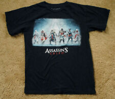 ASSASSIN'S CREED black short sleeve t shirt size XS