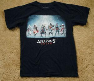 ASSASSIN'S CREED black short sleeve t shirt size XS