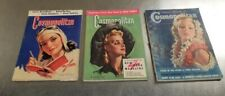 Lot of 3 Vintage Cosmopolitan Magazine, March 1939,May 1941, April 1944