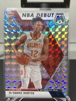 2019-20 Panini Mosaic Prizm Silver De'Andre Hunter Rookie RC NBA Debut HAWKS