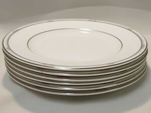 ROYAL DOULTON 'Simplicity' X6, 6.5 Inch / 16.5cm Side Plates Tableware 1986