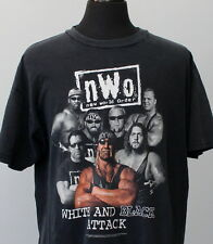 vintage 90s NEW WORLD ORDER wcw WRESTLING T SHIRT x-large WWF wcw HULK HOGAN