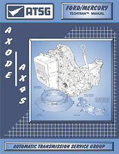 ATSG Tech Manual AXODE AX4S Ford Taurus Mercury Sable Lincoln 1991-On Guide Book
