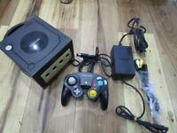 Nintendo GameCube Console Black w/controller GC Japan w209